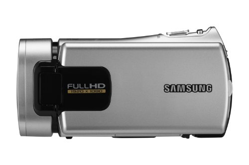 Samsung H300 Full HD Camcorder (30x Optical zoom, 3inch touch LCD) - Silver