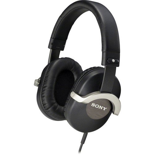 Sony 50Mm Over The Ear Professional Studio Monitor Stereo Headphones Featuring In-Line Remote Control And A Built-In Microphone.