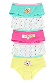 5 Pack Cotton Rich Boofle Shorts