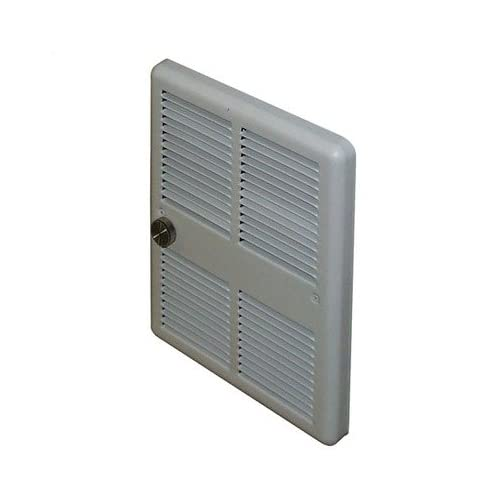 Economical Mid Size 240v Double Pole Fan Forced Wall Heater w/ Back Cans Power 7,680 btu / 9.4 amps / 2250w