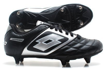 Stadio Potenza II 700 SG Kids Football Boots Black/Silver