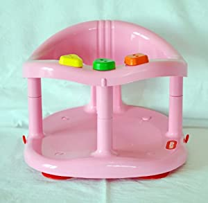 baby bath tub ring seat new in box by keter pink baby. Black Bedroom Furniture Sets. Home Design Ideas