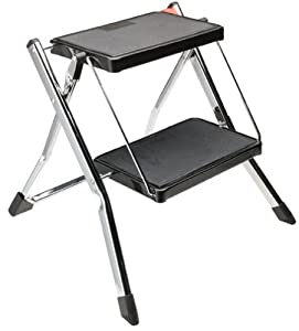 Amazon Com Polder 2 Step Stool Without Rail Kitchen Amp Dining