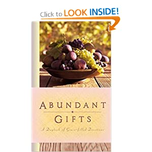Abundant Gifts: A Daybook of Grace-Filled Devotions