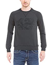 Prym Men's Cotton SweatShirt (8907423023444_2011501501_Small_Grey)