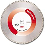 MK Diamond 150676 (MK-950D) 6″ Dry Cutting Turbo Rim Blades for soft abrasive material, Premium Grade, Width: ..080″