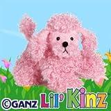 """Ganz Lil'Kinz Poodle Plush, Pink, 6.5"""""""