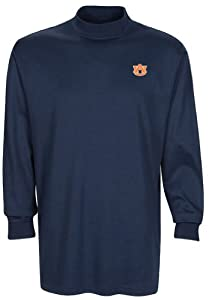 NCAA Auburn Tigers Mens Carlow Mock Turtleneck, Classic Navy, XX-Large by Oxford