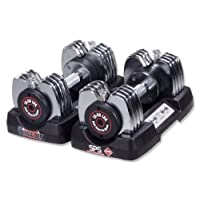 Stamina 50-Pound Versa-Bell Adjustable Dumbbell Pair
