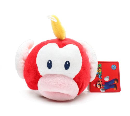 "Global Holdings Super Mario Plush - 5"" Cheep Cheep/Puku Puku - 1"