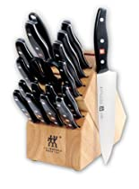 Hot Sale Zwilling J.A. Henckels Twin Signature 19-Piece Knife Set with Block