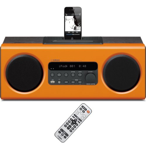 Yamaha TSX-112OR All-in-One Desktop Audio (Orange)