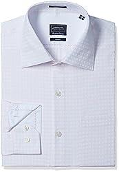 Arrow Men's Formal Shirt (8907378502834_ASSF0033_40_Light Pink)