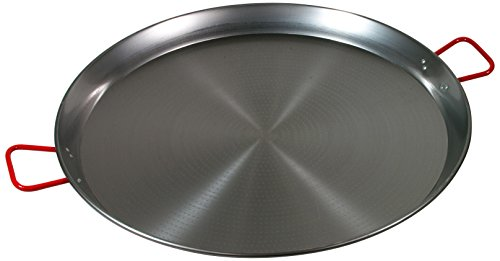 Garcima 32-Inch Carbon Steel Paella Pan, 80cm (Large Paella Pan compare prices)