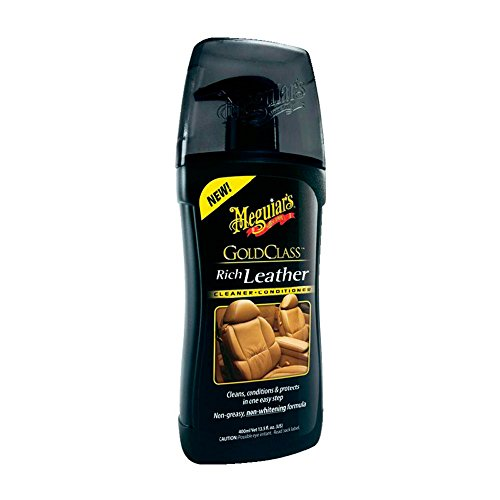 Meguiar's 72944 Gold Class Rich Leathe Trattamento Pelle, Gel