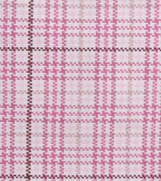 Plaid check Pink 73000 4 by Duralee Fabrics