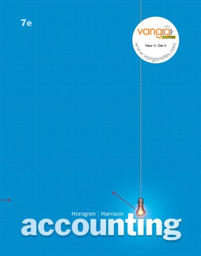 Accounting  ch 1-13 (7th Edition) (Chapters 1-13)