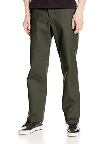 Dickies - Fit, Pantaloni da uomo, Olive Green, 32W/34L