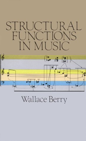 Structural Functions in Music (Dover Books on Music)