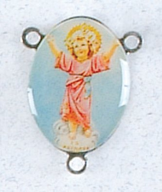 Rosary Centerpiece - Divine Child - IMPORTED FROM ITALY