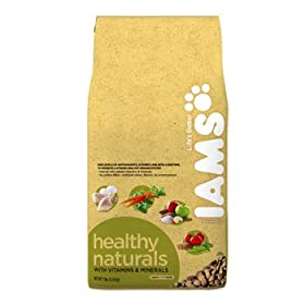 Iams Healthy Naturals Dry Dog Food - 7 lb.