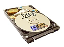 320GB SATA Hard Drive (5400 RPM) for HP Pavilion DV6000 DV6000t DV9000 Laptops