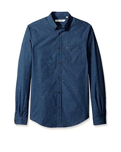Ben Sherman Men's Long Sleeve Slub Shirt