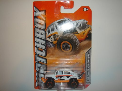 2012 Matchbox Desert Series Volkswagen Beetle 4X4 White #41 of 120 - 1