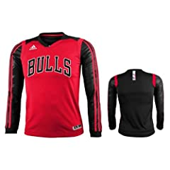 Adidas Chicago Bulls Youth Impact Long Sleeve T-Shirt by adidas