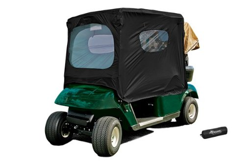 Frogger Golf Cart Poncho, Golf Cart Rain and Wind Protective Cover