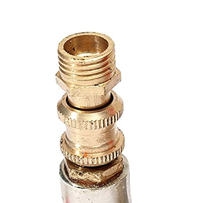 BephaMart Air Compressor Double Outlet Tube Pressure Regulator Valve Fitting Shipped and Sold by BephaMart