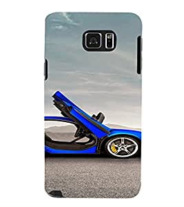 PrintVisa Sports Car Design 3D Hard Polycarbonate Designer Back Case Cover for Samsung Galaxy Note 5