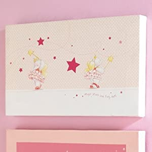 Baby Clothing Wall  on Lottie Fairy Princess Canvas Wall Art  Magic Stars  Amazon Co Uk  Baby