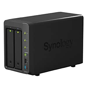 Synology DS713+ DiskStation 2 Bay Desktop NAS