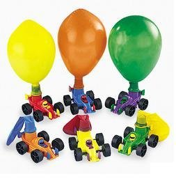 Classic Balloon Racers pack of 12