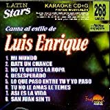 echange, troc Karaoke - Latin Stars Karaoke: Luis Enrique