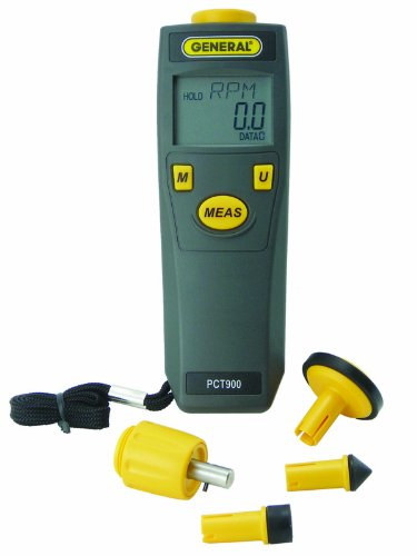 General Tools & Instruments Pct900 Digital Contact And Non-Contact Tachometer