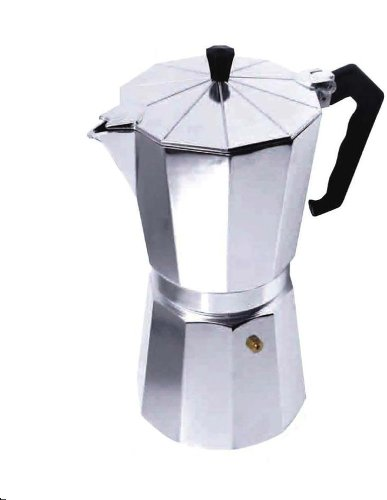 BC Classics BC-17740 9-Cup Espresso Maker Aluminum