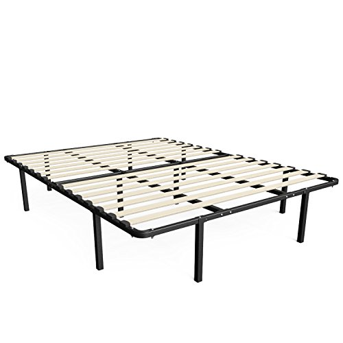 Cheapest Prices! Sleep Master MyEuro SmartBase/Wooden Slat/Mattress Foundation/Platform Bed Frame/Bo...