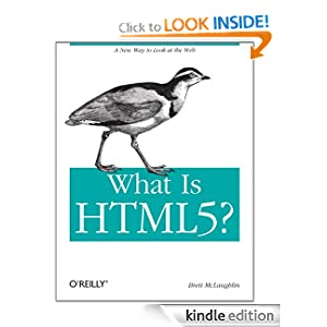 Download What Is HTML5? Kindle Edition for Free @ Amazon.com