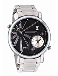 DVINE Black Dial Men Watch ED4001