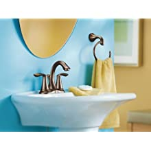 Moen Eva Two-Handle Lavatory Faucet with Drain Assembly
