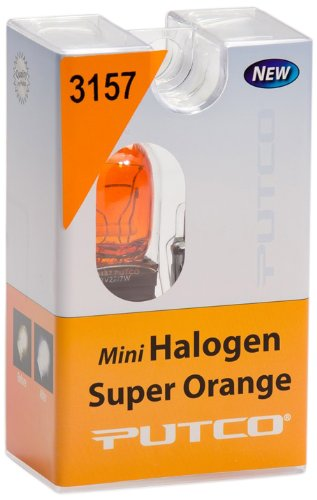 Putco (213157A) Halogen Parking Light, Front, Super Orange