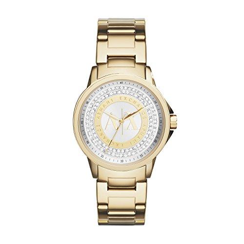 Emporio Armani AX4321 - Reloj con correa de metal para mujer, multicolor