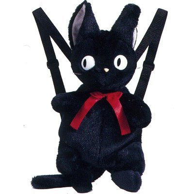 Witch's house full of Ghibli Kiki's delivery service Jiji plush backpack!