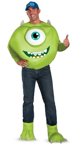 Mike Deluxe Adult Costume Monsters University Costume 58781