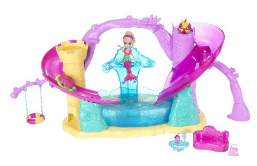 Buy Low Price Mattel Polly Pocket Race and Splash Playset Figure (B0037UT1WS)