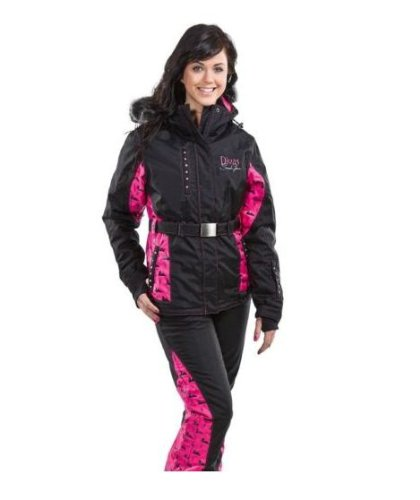 Divas SnowGear Divine Woman's Snowmobile Jacket. Waterproof. Breathable. 78750