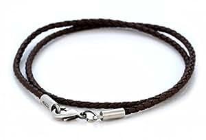Amazon.com - Black Braided PVC Bico Choker 20 in. - Strands Of Beads