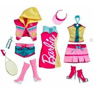 Amazon.com: Barbie Fashionistas Day Looks Clothes - Sporty